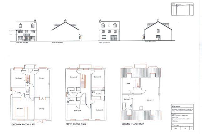 Thumbnail Land for sale in Park Lane, Blaxton, Doncaster