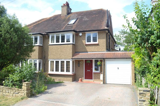 Thumbnail Semi-detached house for sale in Birches Close, Epsom