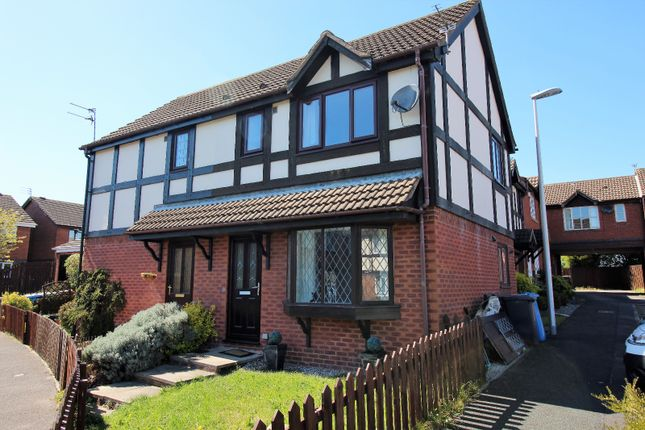 Thumbnail End terrace house to rent in Greenfinch Court, Blackpool, Lancashire