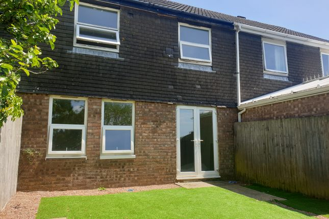 Thumbnail Terraced house to rent in Legis Walk, Plymouth