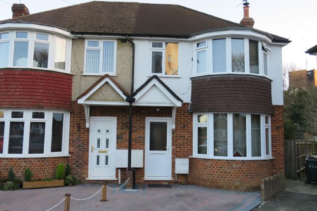 Thumbnail Semi Detached House To Rent In Northgate Road Crawley