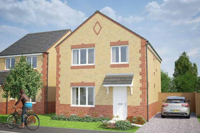 Thumbnail Detached house for sale in The Longford, Masefield Avenue, Holmewood, Chesterfield