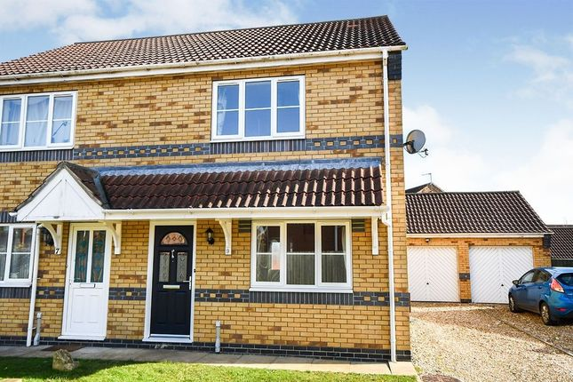3 bed semi-detached house to rent in Milton Close, Cherry Willingham, Lincoln LN3