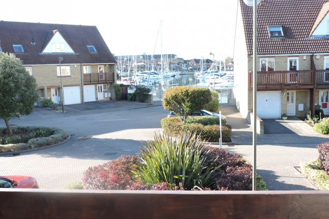 Thumbnail Town house to rent in Tintagel Way, Port Solent, Fareham