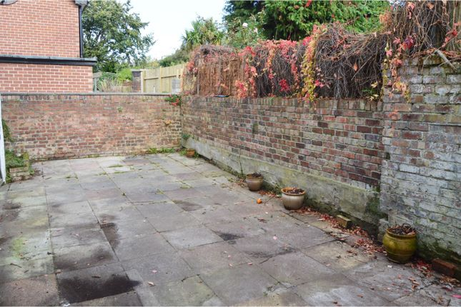 Patio of Park Street, Wallasey, Wirral CH44