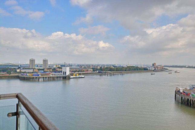 River View of Mizzen Mast House, Mast Quay, Woolwich, London SE18