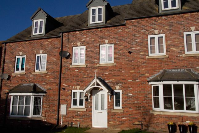 Thumbnail Terraced house for sale in Syfer Close, Caistor, Market Rasen