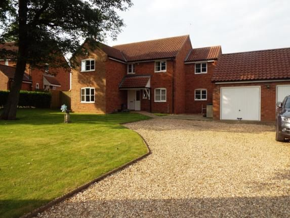 Thumbnail Detached house for sale in Sporle, King's Lynn