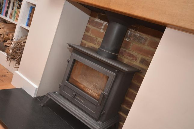 Woodburner In Living Room