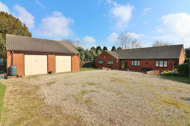 Thumbnail Detached bungalow for sale in Allotment Gardens, Dereham