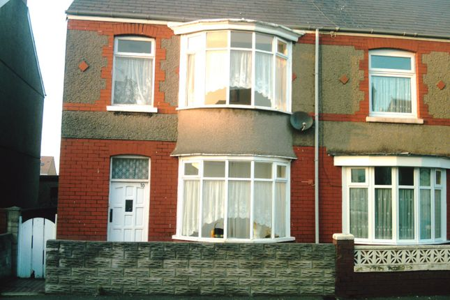 Thumbnail Terraced house to rent in Maesgwyn Street, Port Talbot