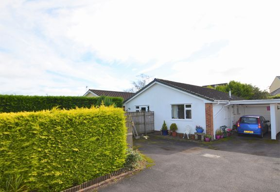 Thumbnail Bungalow for sale in Drayford Lane, Witheridge, Tiverton