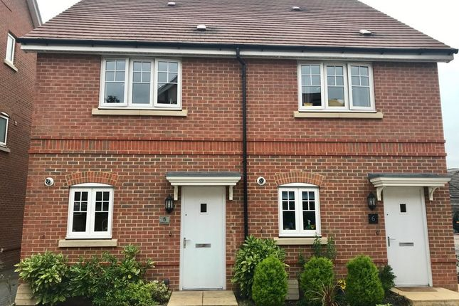 Thumbnail Semi-detached house to rent in Hoskins Court, Blenheim Place, Camberley