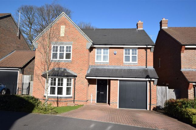Thumbnail Detached house for sale in Keaver Drive, Frimley, Camberley, Surrey