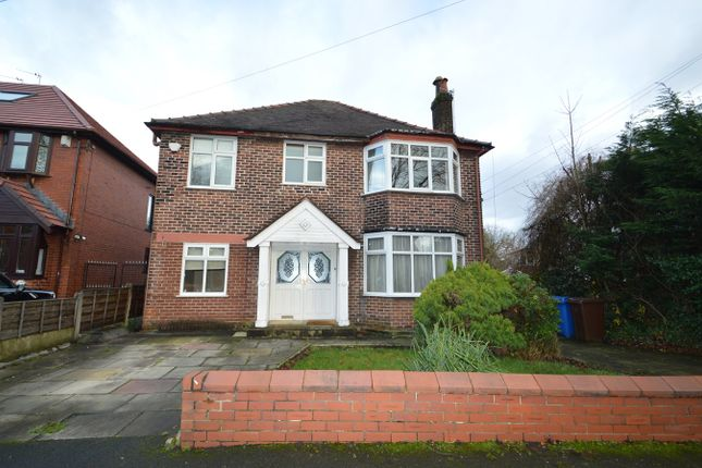 Thumbnail Detached house to rent in Branksome Avenue, Prestwich, Manchester