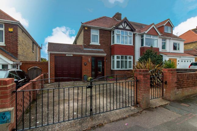 Thumbnail Semi-detached house for sale in Downs Road, Folkestone