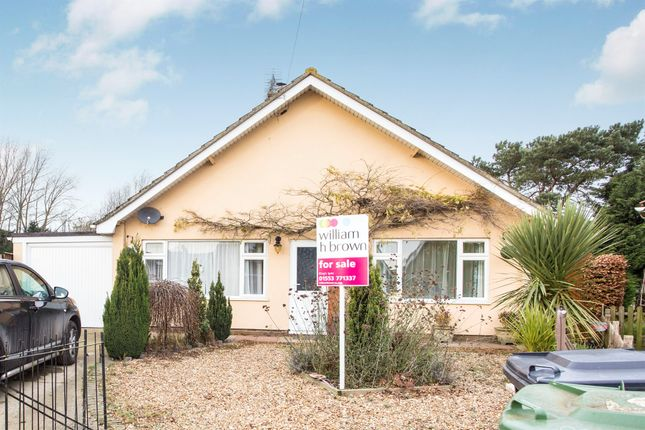 Thumbnail Detached bungalow for sale in Estuary Road, King's Lynn