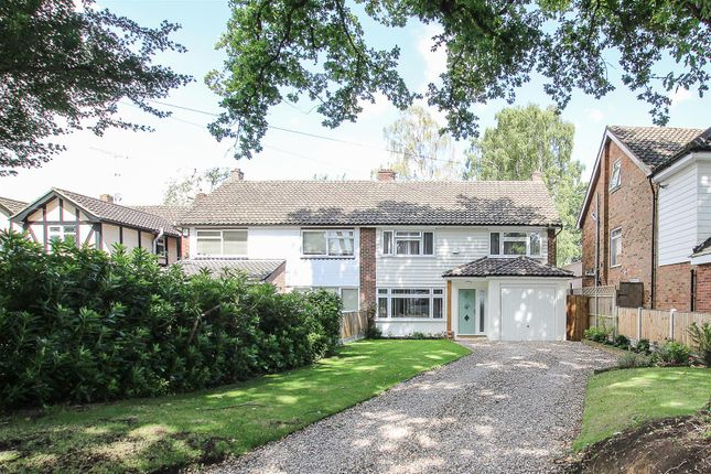 Thumbnail Semi-detached house for sale in Hall Green Lane, Hutton, Brentwood