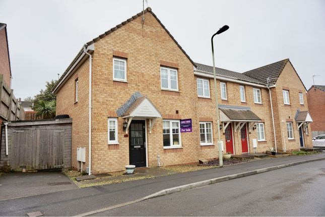 Thumbnail Semi-detached house for sale in Long Meadow, North Cornelly