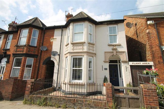 Thumbnail End terrace house for sale in Castle Road, Bedford