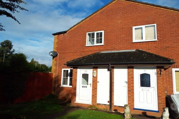 Thumbnail End terrace house to rent in Abbey Close, Bromsgrove