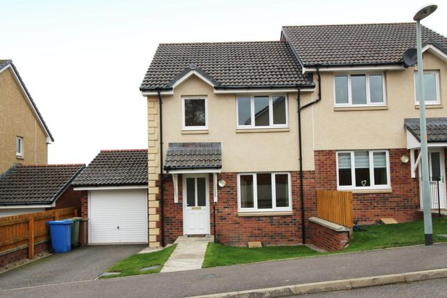 Thumbnail Semi-detached house to rent in Morning Field Drive, Inverness