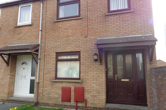 Thumbnail Town house to rent in Mallow Walk, Morecambe
