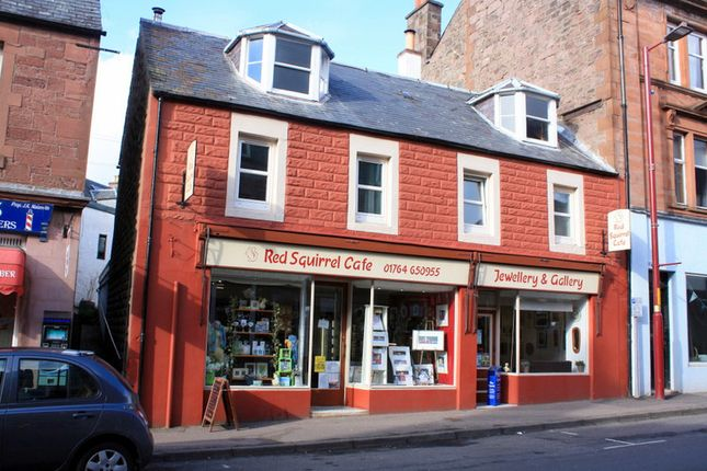 Thumbnail Restaurant/cafe for sale in Red Squirrel Café, 22-26 High St, Crieff, Perthshire