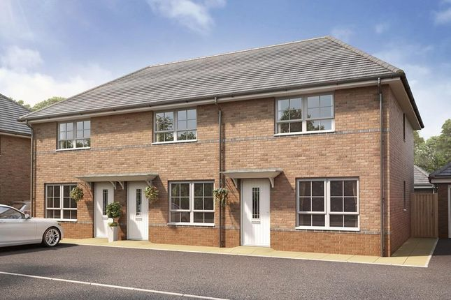 """Thumbnail Semi-detached house for sale in """"Woodbury"""" at Waddington Road, Clitheroe"""