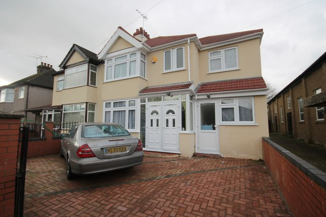 Thumbnail Semi-detached house for sale in Albert Road, Hayes