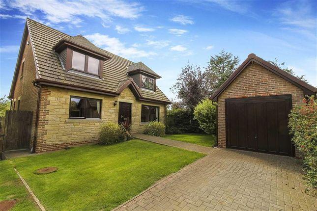 Thumbnail Detached house for sale in Rimside Gardens, Longframlington, Northumberland
