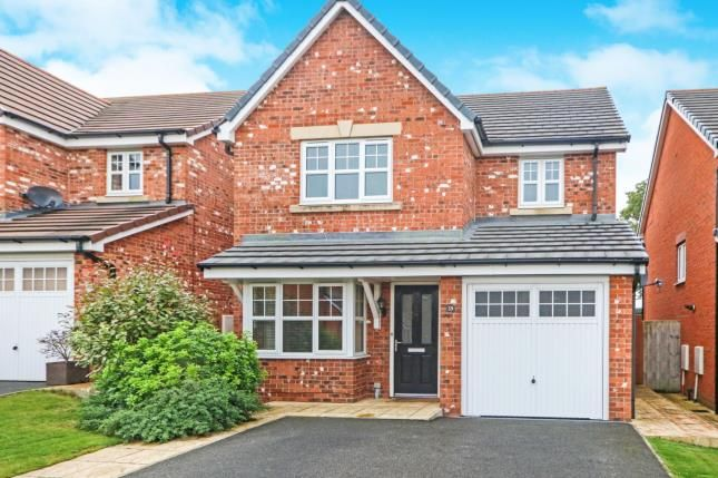 Thumbnail Detached house for sale in Briarwood, Ewloe, Deeside, Flintshire