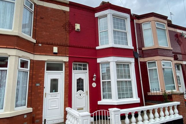 Thumbnail Terraced house to rent in Sidney Road, Bootle, Liverpool