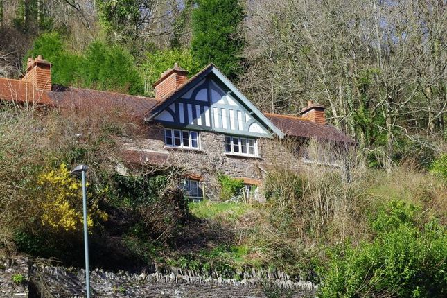 Thumbnail End terrace house for sale in Lynbridge, Lynton