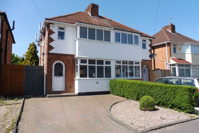Thumbnail Semi-detached house for sale in Rock Road, Solihull