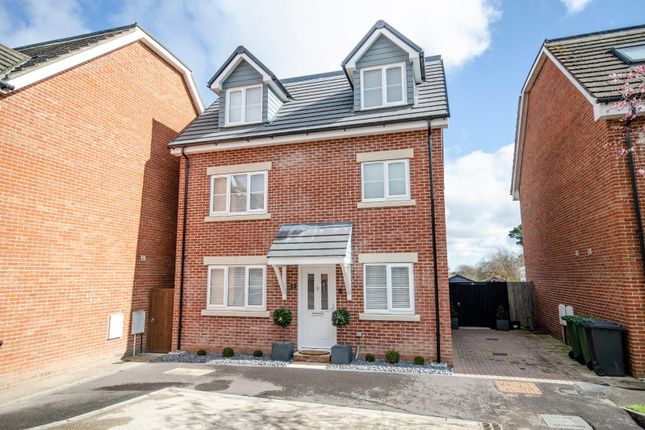 Thumbnail Detached house for sale in Horne Close, West End, Southampton