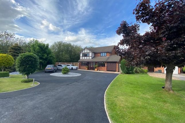 Thumbnail Detached house for sale in Firbeck Gardens, Crewe