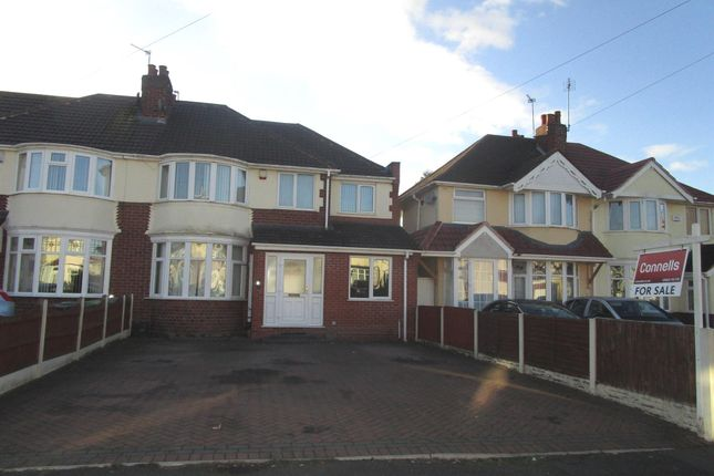 Thumbnail Semi-detached house for sale in Elm Avenue, Wednesfield, Wolverhampton