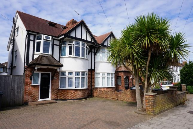 Thumbnail Semi-detached house for sale in Clayton Road, Chessington