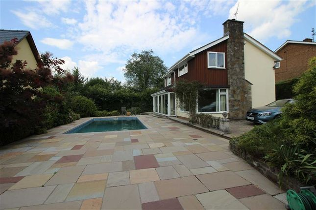 Thumbnail Detached house to rent in Castle Road, Raglan, Monmouthshire