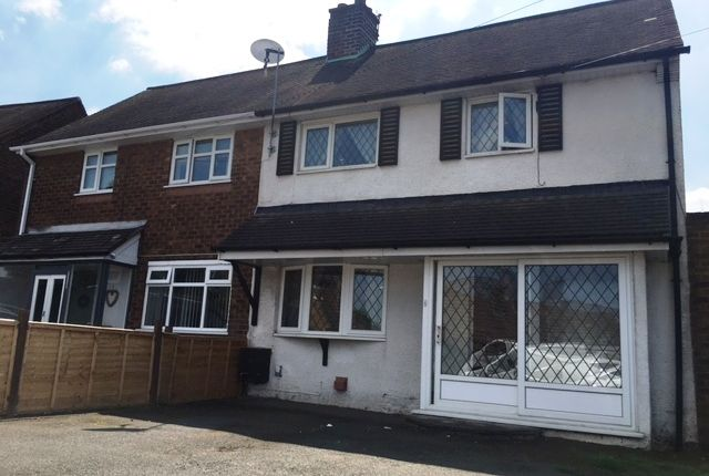 Thumbnail Semi-detached house to rent in Mackay Road, Walsall