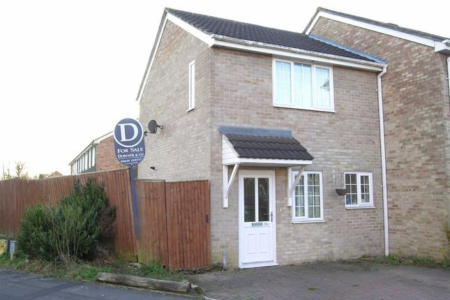 Thumbnail End terrace house to rent in Robertsfield, Thatcham