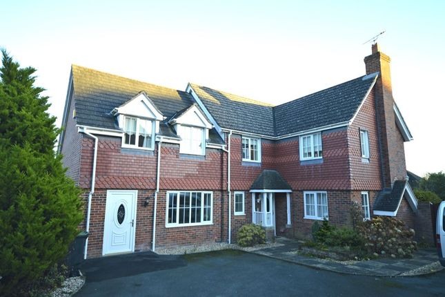 Thumbnail Detached house to rent in Onnen Gardens, Trefonen, Oswestry