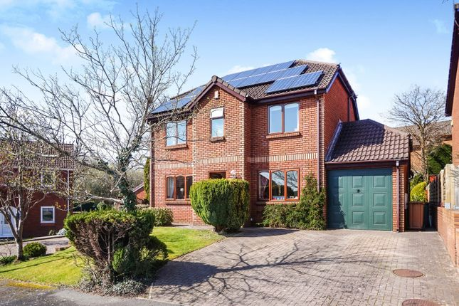 Thumbnail Detached house for sale in Birchwood Close, Blackwood