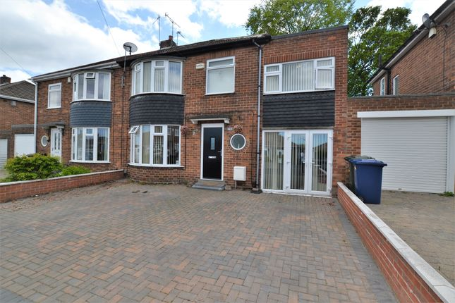 Thumbnail Semi-detached house to rent in Langdon Road, Newcastle Upon Tyne, Tyne And Wear