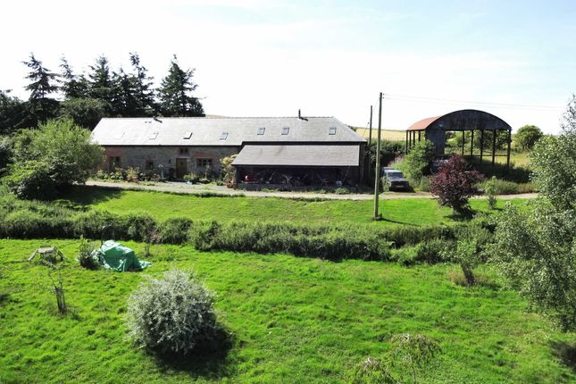 Thumbnail Link-detached house for sale in Gwern Y Go Hill Farm, Sarn, Newtown, Powys