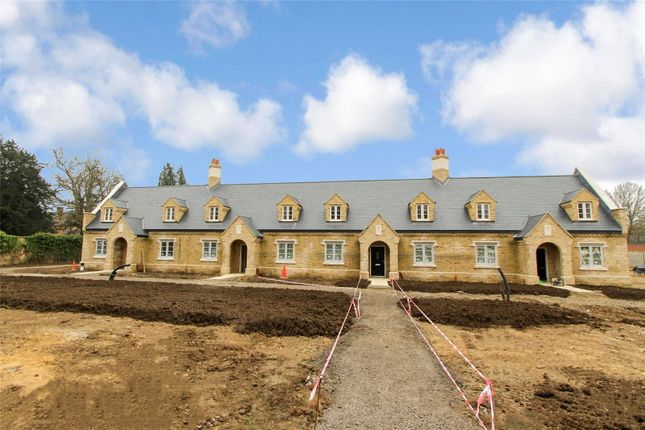 Thumbnail End terrace house for sale in Brampton Manor Gardens, Brampton Park, Brampton, Huntingdon