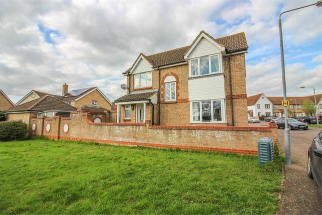 Thumbnail Detached house for sale in Tickenhall Drive, Church Langley, Harlow, Essex