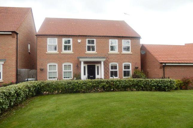 Thumbnail Detached house to rent in Marron Close, Fernwood, Newark, Nottinghamshire