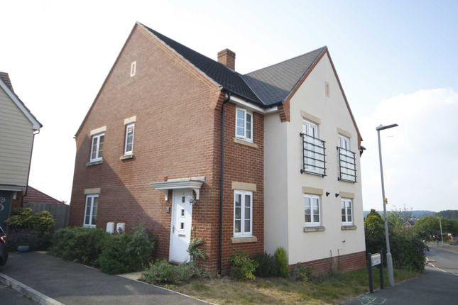 Thumbnail Semi-detached house for sale in Mannock Way, Canford Heath, Poole